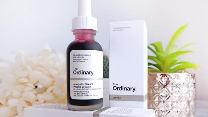 Review The Ordinary Peeling Solution Yang Viral Di Tik Tok Sebagus Apasih
