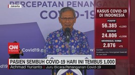VIDEO: Update Corona 30 Juni: 56.385 Positif, 24.806 Sembuh