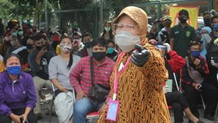 Perwali Risma, Pekerja dari Luar Surabaya Wajib Tes Corona