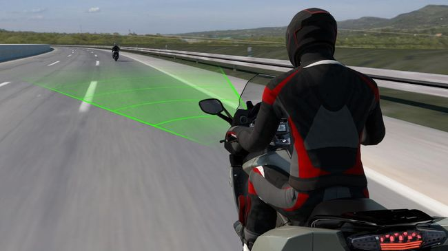 Active Cruise Control milik BMW Motorrad