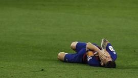 Alarm Bahaya Barcelona: Messi Cedera