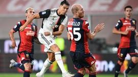 FOTO: Tiga Gol Spektakuler Juventus saat Hajar Genoa