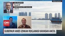 VIDEO: Gubernur Anies Izinkan Reklamasi Kawasan Ancol