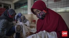 FOTO : Masker Marunda, Babak Baru Batik Betawi