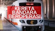 VIDEO: Kereta Bandara Kembali Angkut Penumpang