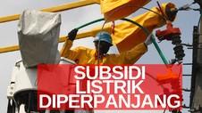 VIDEO: Subsidi Listrik Diperpanjang Hingga September 2020