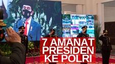 VIDEO: 7 Amanat Presiden Jokowi Untuk Polri