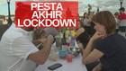 VIDEO: Warga Ceko Makan Bersama Rayakan Akhir Masa Pembatasan