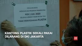 VIDEO: Kantong Plastik Sekali Pakai Dilarang di DKI Jakarta