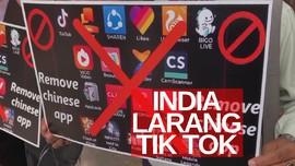 VIDEO: India Blokir Tik Tok dan Aplikasi Asal China