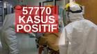 VIDEO: 57.770 Kasus Positif Covid-19 di Indonesia