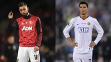 MU Mulai Samakan Fernandes dengan Ronaldo
