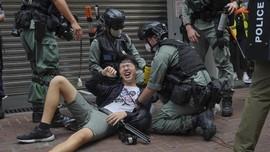FOTO: Jerat Beleid Baru untuk Demonstran Hong Kong