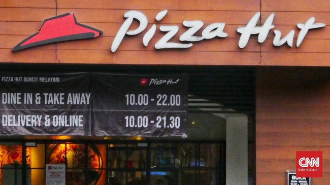 Pengelola Pizza Hut Rugi Rp93,51 M pada 2020