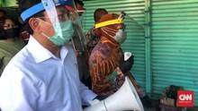 Terawan Irit Bicara Usai Sidak ke Pasar dan RS Unair Surabaya