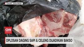 VIDEO: Oplosan Daging Sapi & Celeng Dijadikan Bakso