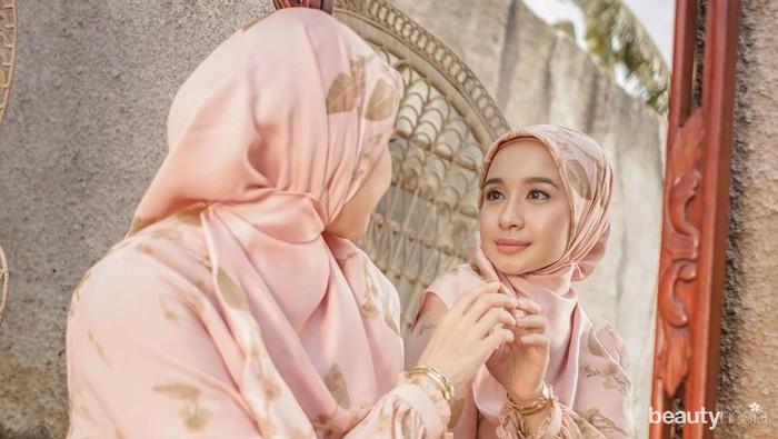 Sstt.. Ternyata Ini Rahasia Hijab Laudya Cynthia Bella Selalu Rapi!