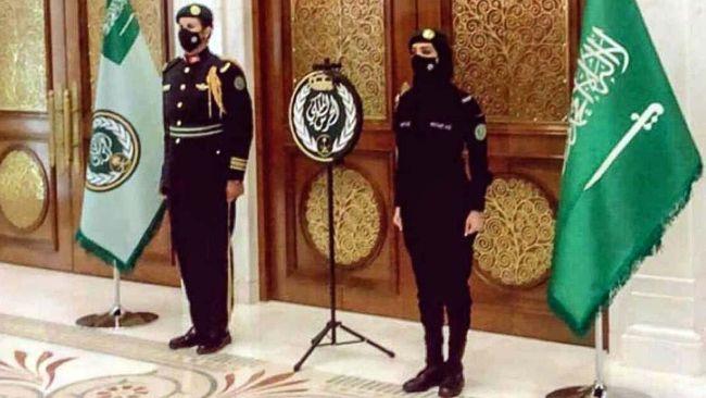 tentara wanita saudi