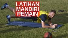 VIDEO: Latihan Mandiri Pemain Bali United di Masa Pendemi