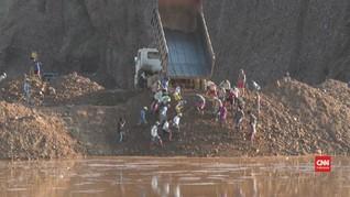 VIDEO: 126 Tewas akibat Longsor di Tambang Giok Myanmar
