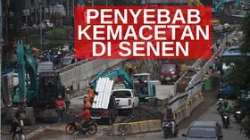 VIDEO: Imbas Pembangunan Underpass Senen Extension