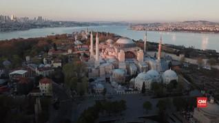 VIDEO: AS Tak Mau Turki Fungsikan Hagia Sophia sebagai Masjid
