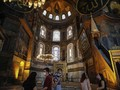 FOTO: Hagia Sophia dan Jejak Ibadah Dua Agama