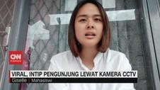 VIDEO: Aksi Mengintip Konsumen Lewat CCTV Tuai Kecaman