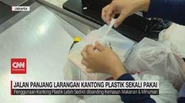 VIDEO: Jalan Panjang Larangan Kantong Plastik Sekali Pakai
