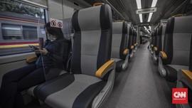 FOTO : Kereta Bandara Kembali Beroperasi