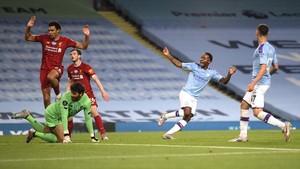 FOTO: Man City vs Liverpool, Sang Juara Hancur