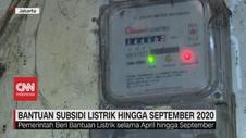 VIDEO: Bantuan Subsidi Listrik Hingga September