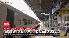 VIDEO: PT. KAI Tambah Perjalanan Kereta Jarak Jauh