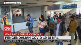 VIDEO: Pengendalian Covid-19 di KRL