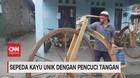 VIDEO: Sepeda Kayu Unik Dengan Pencuci Tangan
