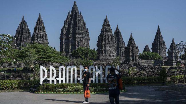 PT Taman Wisata Candi Borobudur, Prambanan, dan Ratu Boko (Persero) tetap membuka Candi Prambanan dan Ratu Boko pada libur Lebaran 2021.