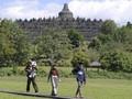 Candi Borobudur Buka Zona I, Turis Wajib Ditemani Pemandu