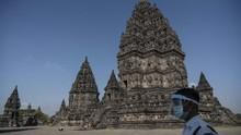 FOTO: Kala Wisata Candi Kembali Dibuka di Tengah Pandemi