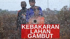 VIDEO: Belasan Titik Panas Terpantau di Riau