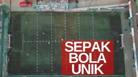 VIDEO: Bermain Bola Terapkan Physical Distancing