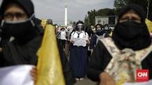 Keluh Kesah Orang Tua dalam Demo PPDB DKI di Seberang Istana