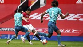 Hasil Liga Inggris: MU Menang Telak 5-2 atas Bournemouth
