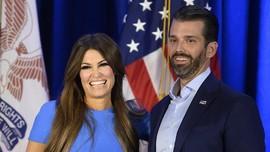Pacar Putra Sulung Donald Trump Positif Virus Corona
