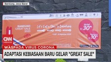 VIDEO: Adaptasi Kebiasaan Baru, Jabar Gelar 'Great Sale'