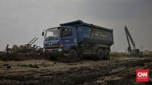 FOTO: Proyek Tanah Timbul Cikal Bakal Reklamasi Ancol
