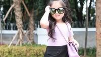 Netizen pun sempat menyebut Thalia Putri Onsu seperti Jennie 'BLACKPINK'. (Foto: Instagram @ruben_onsu)