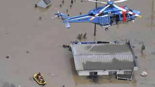 Hujan Deras, Banjir dan Longsor Tewaskan 16 Orang di Jepang