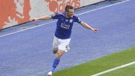Top Skor Liga Inggris: Vardy Menjauh dari Aubameyang