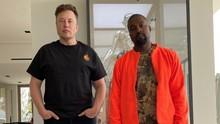 Netizen Mimpikan Duet Elon Musk-Kanye West di Pilpres AS 2020