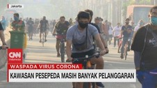 VIDEO: Kawasan Pesepeda Masih Banyak Pelanggaran